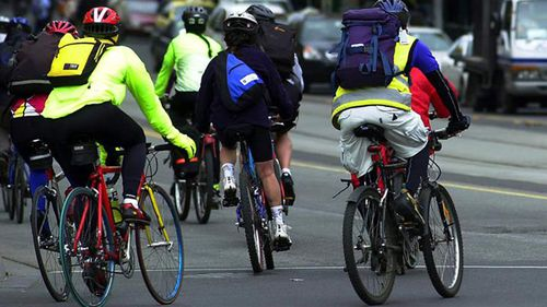 Three times more cyclists than motorists being nabbed under new Queensland road rules