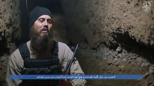 Australian doctor Tareq Kamleh, who now calls himself 'Abu Yusuf'.