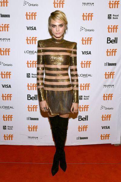 Cara Delevingne, 2018 Toronto Film Festival