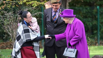 Queen Elizabeth visits the Royal British Legion Industries village in Kent 5