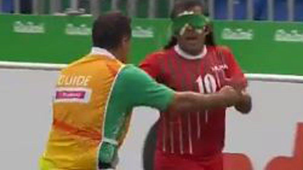 Super goal sets Paralympics football tournament alight