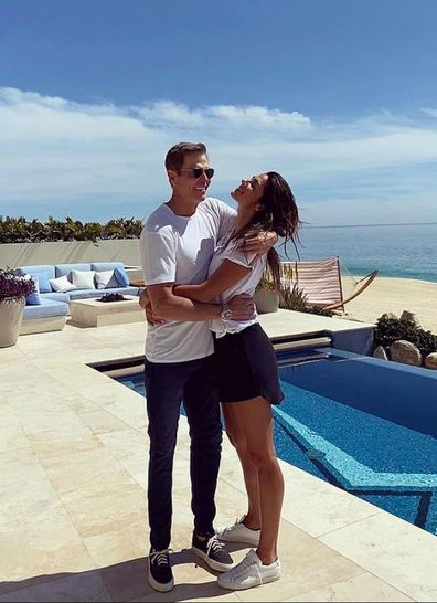 Pia Miller, Patrick Whitesell, reunite,  Sydney, Instagram photos