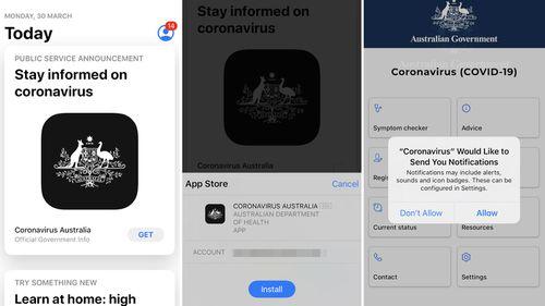 How to download the Australian government's coronavirus app.