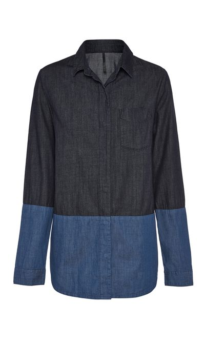 "<p><a href=""http://shop.nobody.com.au/"" target=""_blank"">Tonal Shirt, $179, Nobody Denim</a></p>"