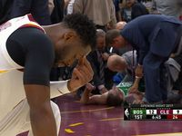 Gruesome break in NBA opener