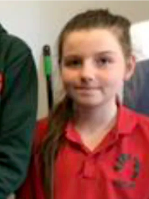 Hannah Papps, 12, is in a critical but stable condition.