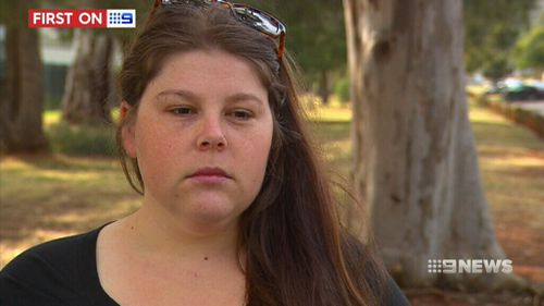 Khala Sainsbury spoke to 9NEWS after a new plea deal was struck in a Bogota court. (9NEWS)