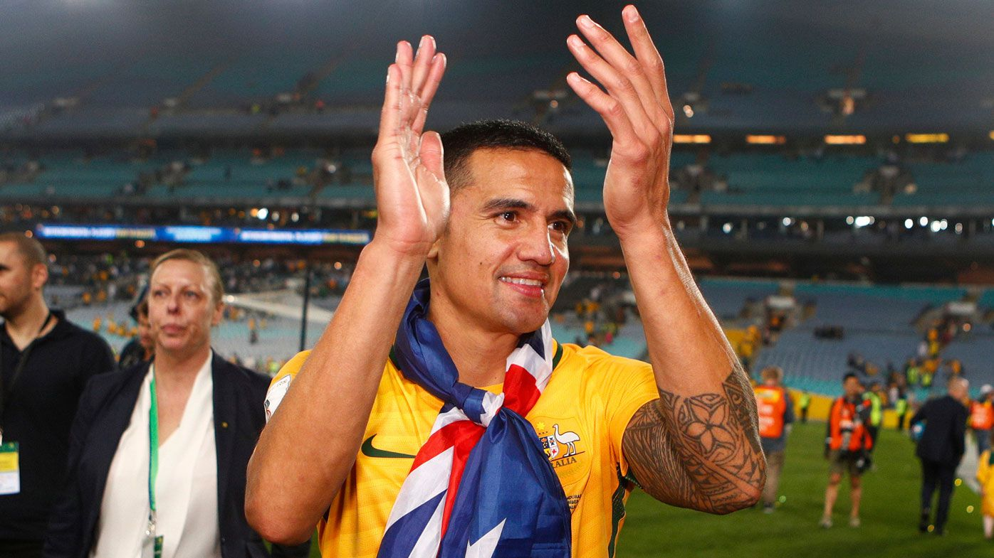 Socceroos legend Tim Cahill to receive tribute match when Australia hosts Lebanon in November