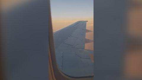 Loose window frame concerns airline passenger