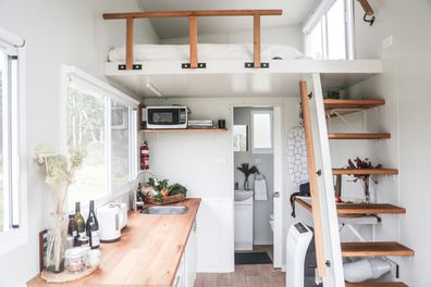 Tips for living in a tiny house and what to consider before downsizing.
