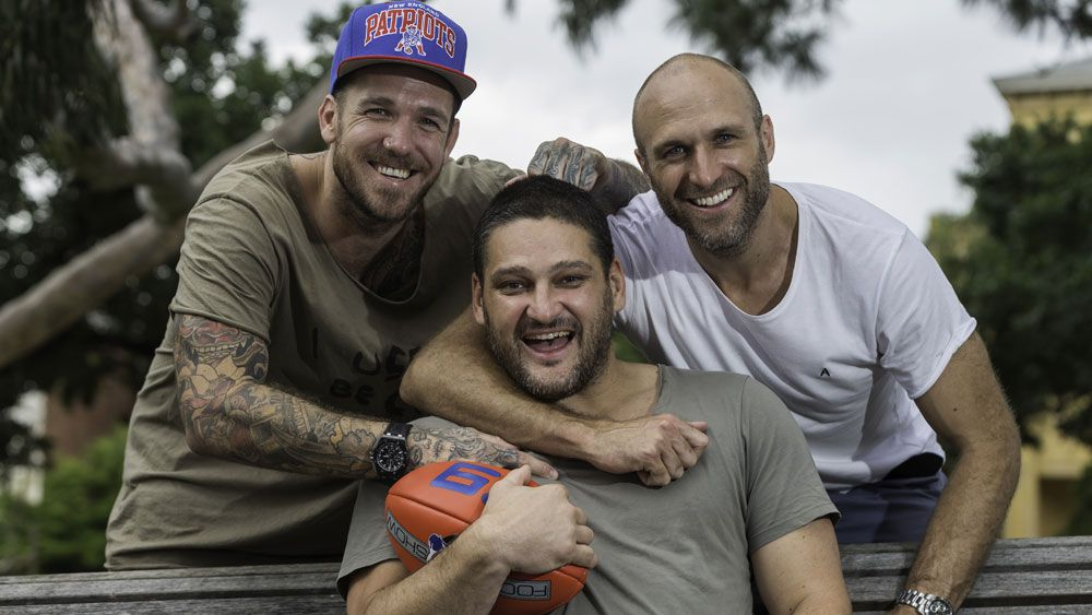 AFL superstars Chris Judd, Dane Swan and Brendan Fevola to join The AFL Footy Show for 2018