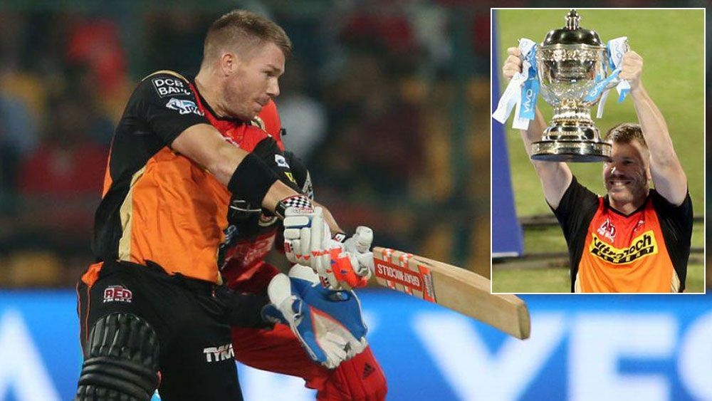 Warner inspires Sunrisers to IPL glory