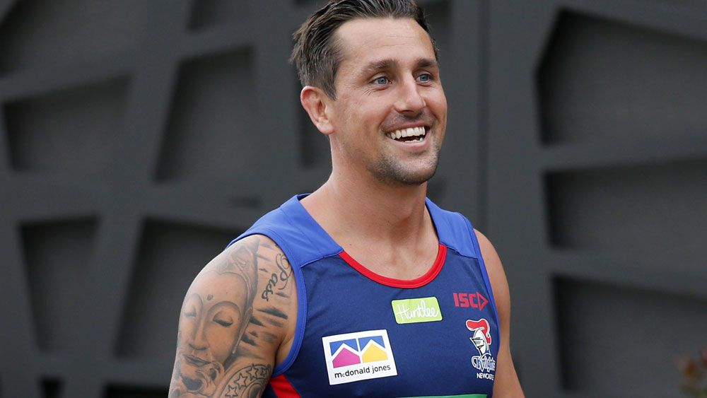 Former Sydney Roosters halfback Mitchell Pearce wants leadership role at Newcastle Knights