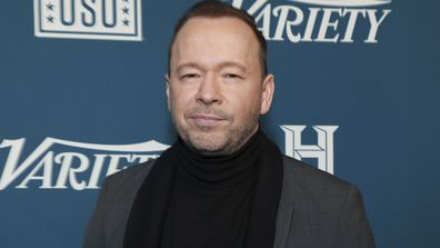"Donnie Wahlberg attends Variety's third annual ""Salute to Service"" celebration at Cipriani 25 Broadway in New York. On Nov. 7, 2020"