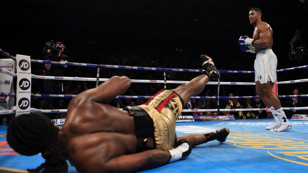 Joshua wins IBF world heavyweight title