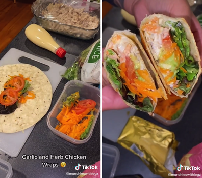 New Zealand woman's packed lunches