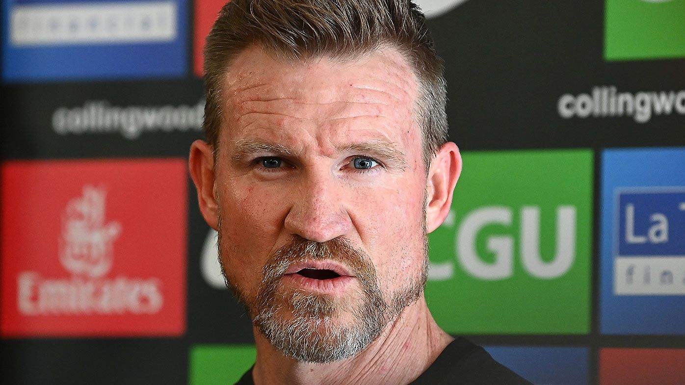 Nathan Buckley urges Collingwood fans to 'believe in the direction of the club' amid off-field upheaval