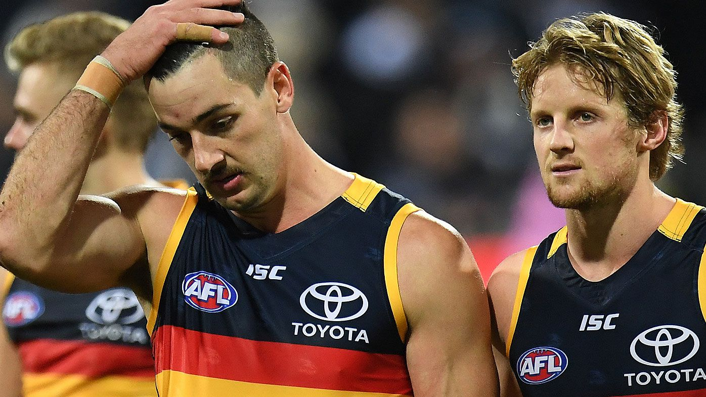 Taylor Walker and Rory Sloane