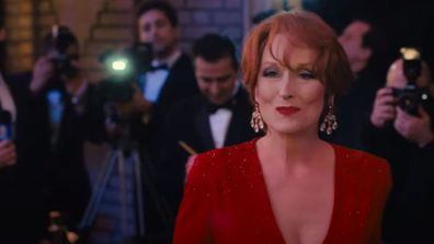 Meryl Streep and Nicole Kidman in a scene from musical The Prom