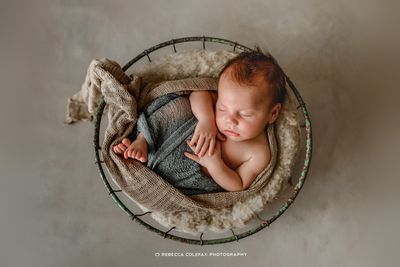 """""""When it comes to photographing babies and children a little bit of love and tenderness goes a LONG way,"""" Rebecca says."""