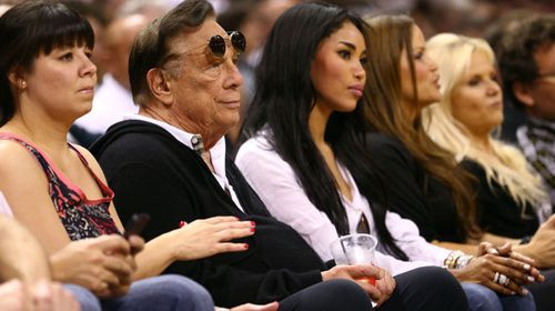 Los Angeles Clippers owner Donald Sterling. (Getty)