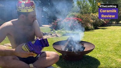 Bruno Bouchet burns Cadbury Caramilk in viral video