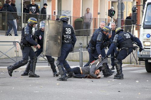 Authorities say 8000 police will fan out across Paris, equipped with a dozen barricade-busting armored vehicles that could be used for the first time in a French urban area since the 2005 riots.