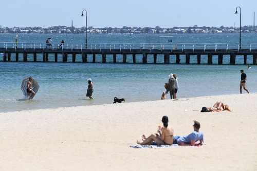 Heat will peak on Thursday across New South Wales and the ACT. (AAP)