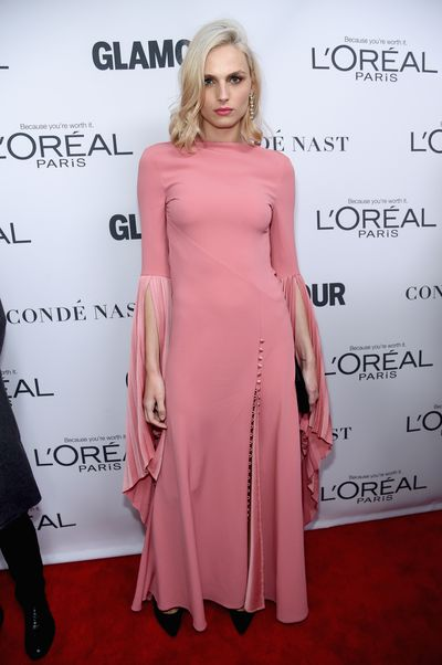 Andreja Pejic at the Glamour Women of the Year Awards, November 13.