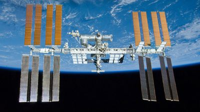 The International Space Station was the target of the mission. (AAP)