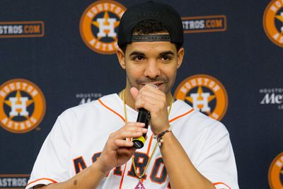 """Fun fact: Drake hadn't even begun recording his fourth album when he revealed title <i>Views from the 6</i> in July 2014, but a lyrical hint from track '0 to 100/The Catch Up' clued us in to the project's release date. """"We already got spring 2015 poppin',"""" he chants in his tune... which is not subtle <i>at all</i>, Drake. <br/><br/>The Canadian rapper released three songs in 2014 - 'How Bout Now', 'Heat of the Moment' and '6 God' - after getting his iCloud raided. """"That wasn't an EP,"""" Drake tweeted. """"Just 3 songs that I knew some hackers had. But enjoy!"""" Either the way, the trio of tunes make for a strong first look at his fourth official studio record."""