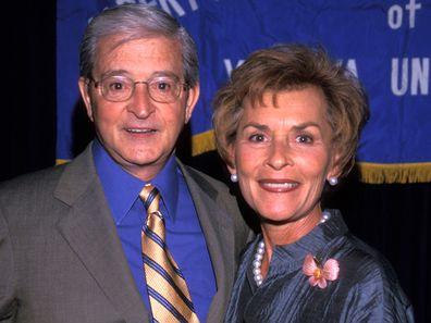 Jerry Sheindlin and Judy Sheindlin in 2000