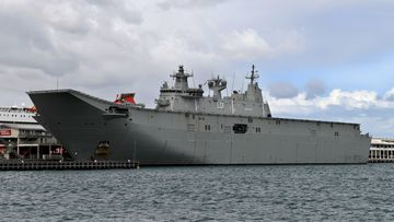 Why is a Chinese 'spy' ship tailing the HMAS Adelaide?