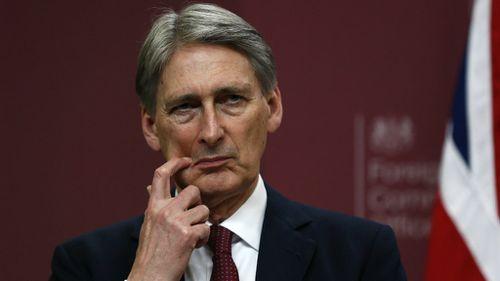 British Foreign Secretary Philip Hammond. (AAP)