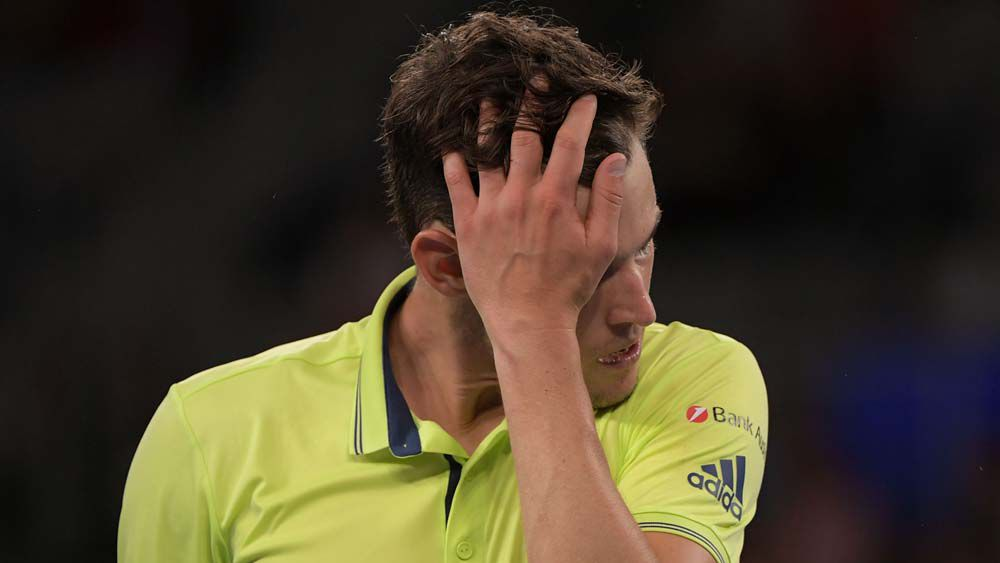 Tennys the winner as Thiem exits Open