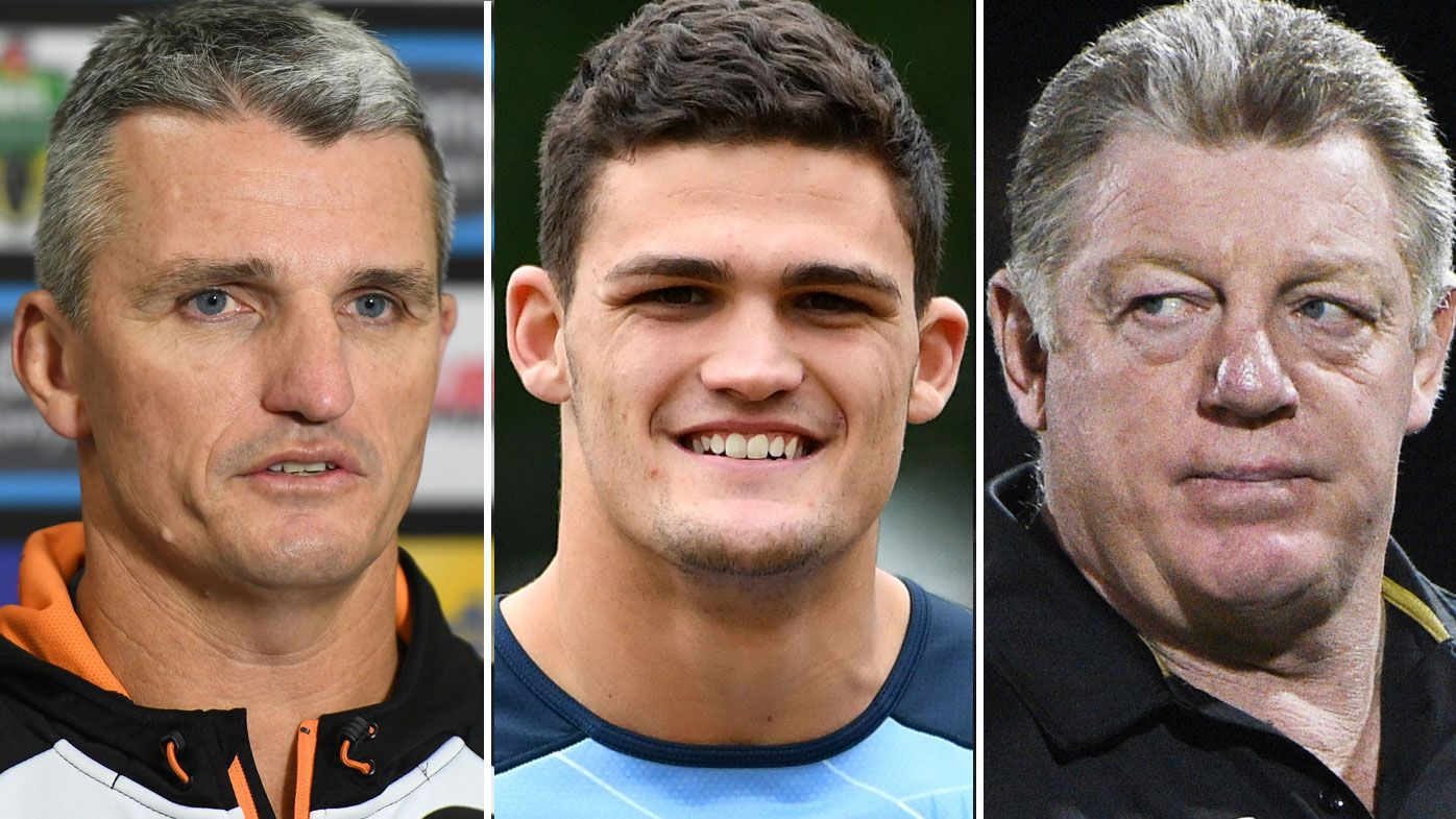 Ivan Cleary, Nathan Cleary and Phil Gould