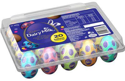 Cadbury Diary Milk Hollow Egg: 12 minutes of vigorous dancing