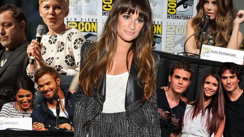 Hollywood A-listers let their geek flags fly at Comic-Con.