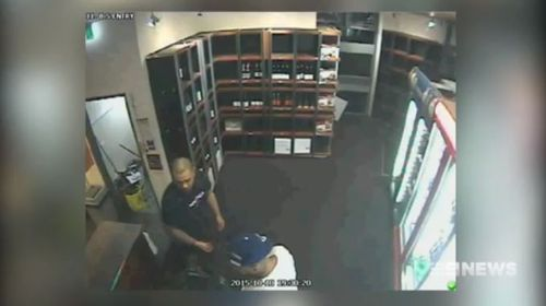 Siale was captured on CCTV purchasing beers the day of the murder.