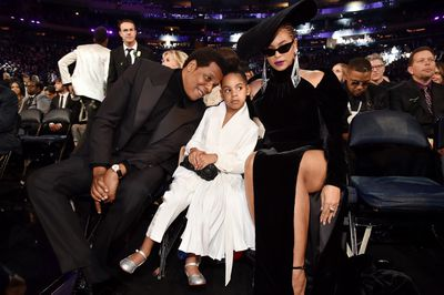 Blue Ivy at the 60th Annual Grammy Awards in New York on January 28, 2018