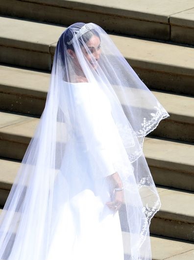 Meghan Markle talks about the 'beautiful' tribute to Australia in her bridal veil