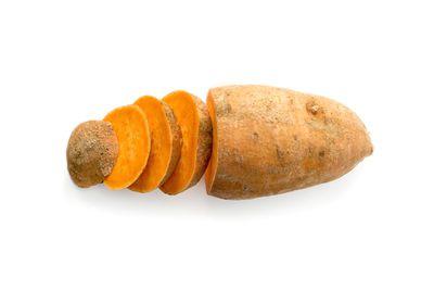 1 medium sweet potato is 100 calories