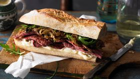 Gourmet steak sandwich recipe