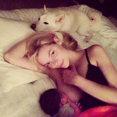 "Actress Jaime King defended herself after this snap caused outrage amongst some men (and women) who felt it wasn't appropriate. ""I posted it because I believe every woman has a right and a choice to do what she wants to do,"" she was quoted as saying in Bello Magazine. We couldn't agree more."