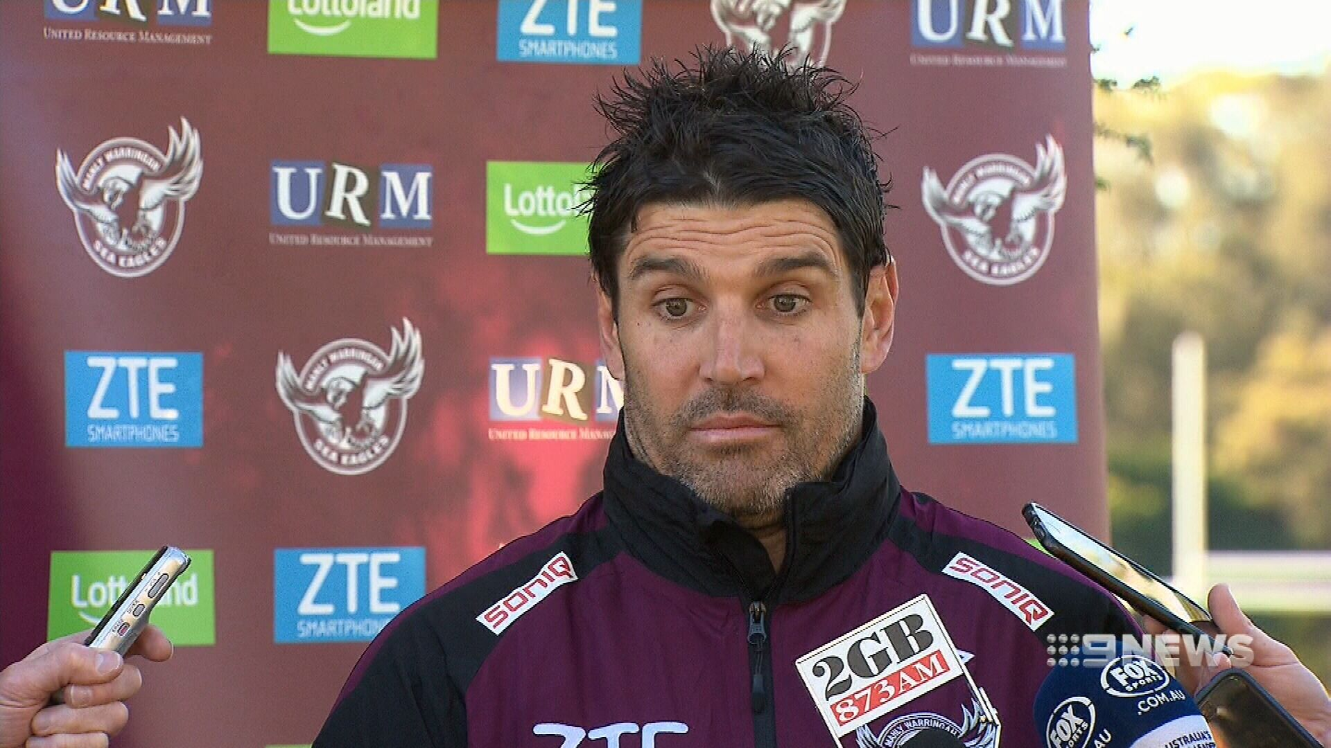 Barrett says Manly in the clear