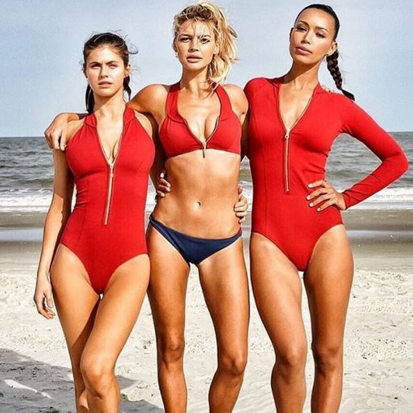 The famous Baywatch swimsuit gets a revamp