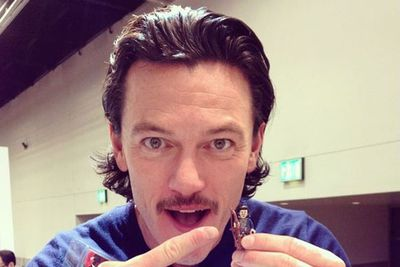 Bard the Bowman (Luke Evans) and LEGO Bard the Bowman!