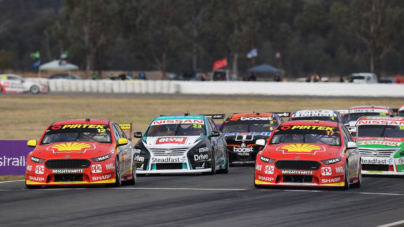 Supercars championship leader Scott McLaughlin looks to Darwin after stall proves costly at Winton