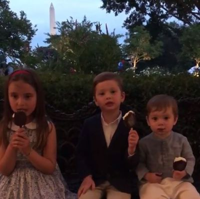 What's a summer holiday without a few fireworks? And ice creams. Summer equals ice creams. That's a fact.
