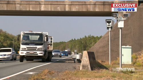 The figures don't even include fines handed out by highway patrol. Picture: 9NEWS